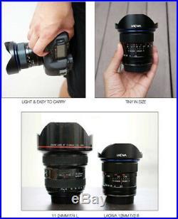 Venus Laowa 12mm f/2.8 Zero-D Ultra-WideAngle Lens for Canon EF Cameras