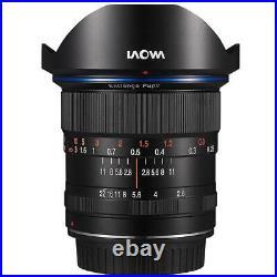 Venus Laowa 12mm f/2.8 Zero-D Ultra-WideAngle Lens for Canon EF Cameras Black