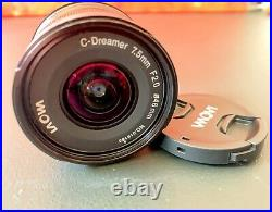 Venus Laowa 7.5mm f/2 MFT Lens for Micro Four Thirds Excellent Condition