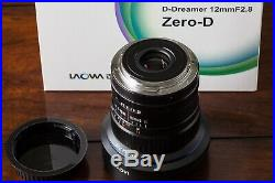 Venus Optics Laowa 12mm f/2.8 Zero-D Lens for Canon EF Manual Focus Used