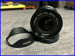 Venus Optics Laowa 7.5mm f/2.0 MFT Lens For Micro Four Thirds (EXCELLENT)