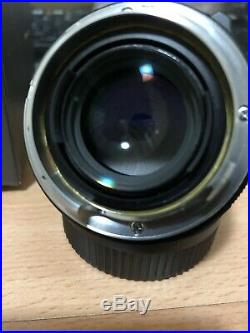 Voigtlander Nokton 35mm f/1.4 M Lens for Leica. Near Mint Condition