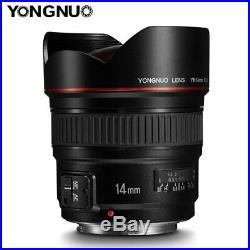 YONGNUO YN14mm F2.8 Auto focus Ultra-wide Angle Prime Lens for Canon DSLR Camera