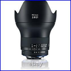 ZEISS Milvus 21mm f/2.8 ZF. 2 Lens for Nikon F