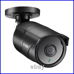ZOSI 4x 4K Ultra HD Security Camera 8.0MP Outdoor Bullet CCTV Home Camera system
